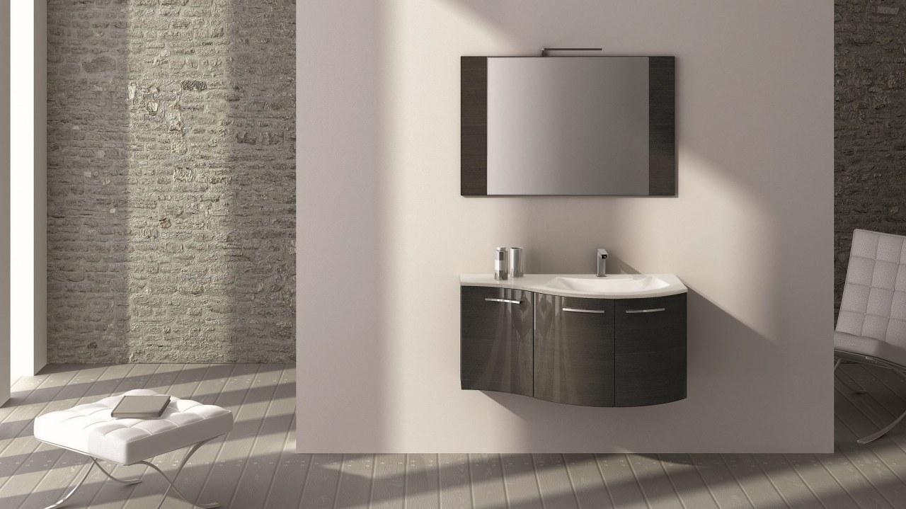 Konkav gerundeter Waschplatz: Wunderbar und platzsparend