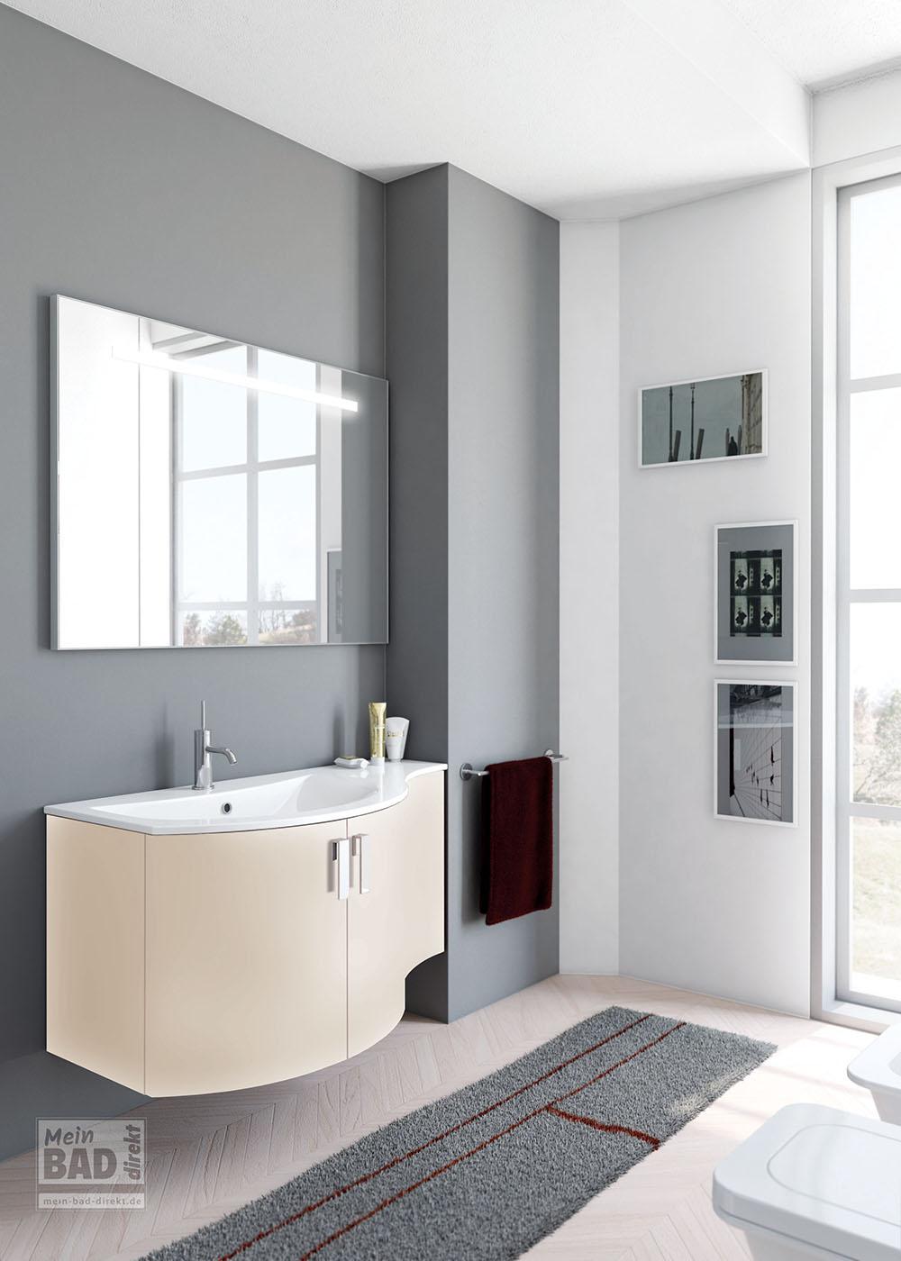 Waschplatz Badmoebel Auch Fuers Kleine Badezimmer