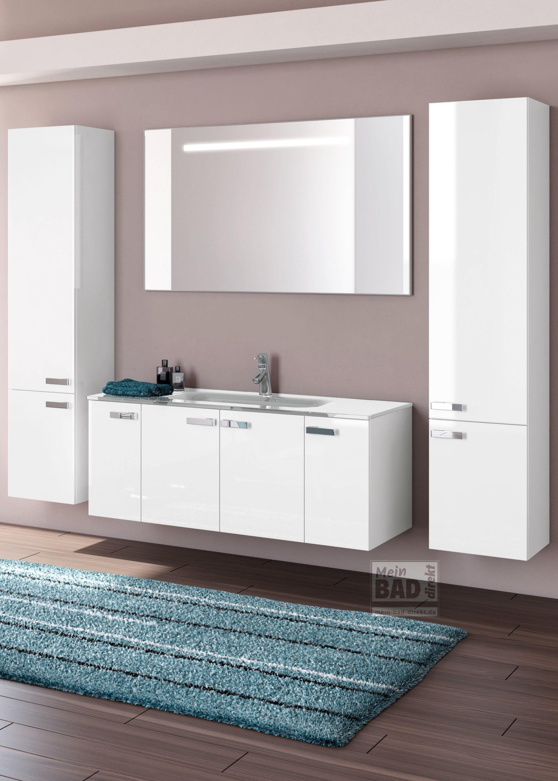 e 3 gro er waschtisch mit unterschrank 120 cm mein bad direkt. Black Bedroom Furniture Sets. Home Design Ideas