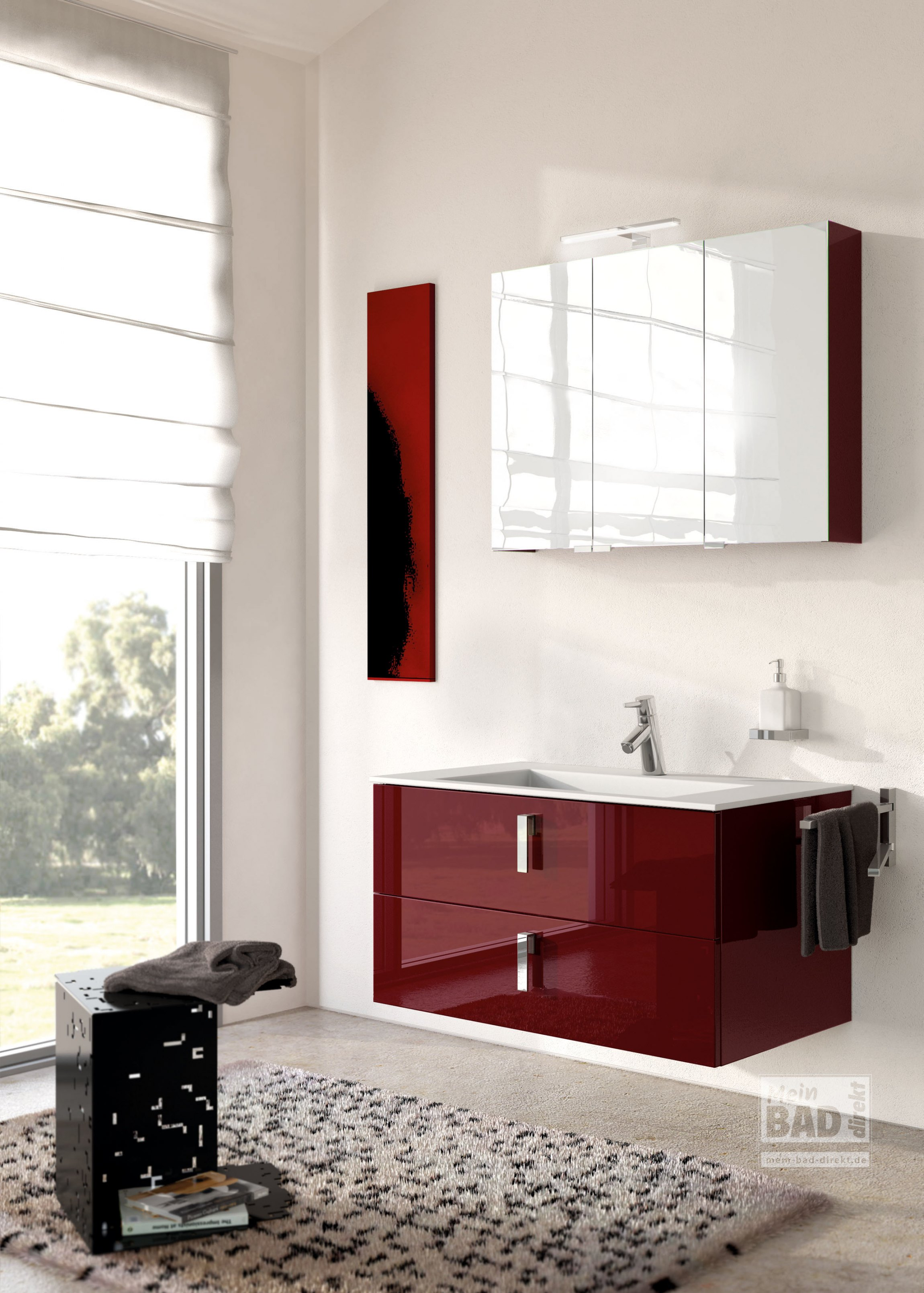 Modernes badm bel mit tollem waschtisch mein bad direkt for Badmobel direkt
